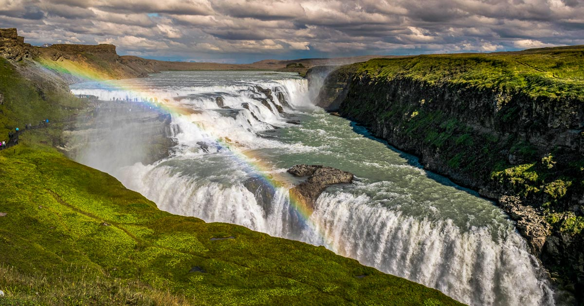 Gullfoss Waterfall | Iceland's Golden Circle | Arctic Adventures
