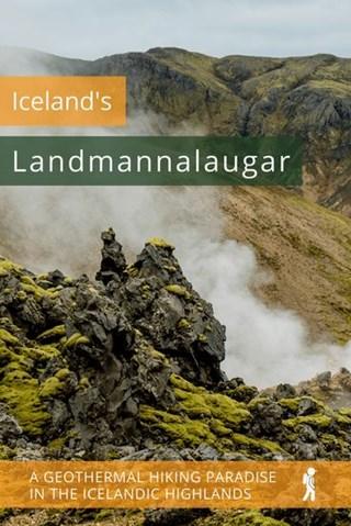 Icelands Landmannalaugar