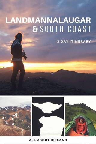 Landmannalaugar and South Coast 3 day Itinerary