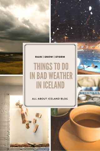 Things to do in bad weather in Iceland