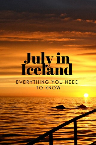 July in Iceland
